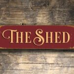 The Shed Sign 2