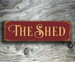 The Shed Sign