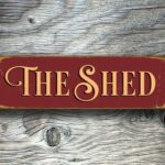 The Shed Sign 5