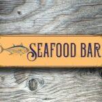 Seafood Bar Sign 2