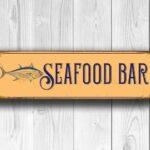 Seafood Bar Sign