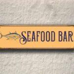 Seafood Bar Sign 4
