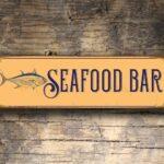 Seafood Bar Sign 5