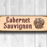 Cabernet Sauvignon Sign 3