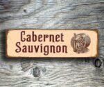 Cabernet Sauvignon Bar Sign