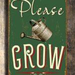 Please Grow Sign