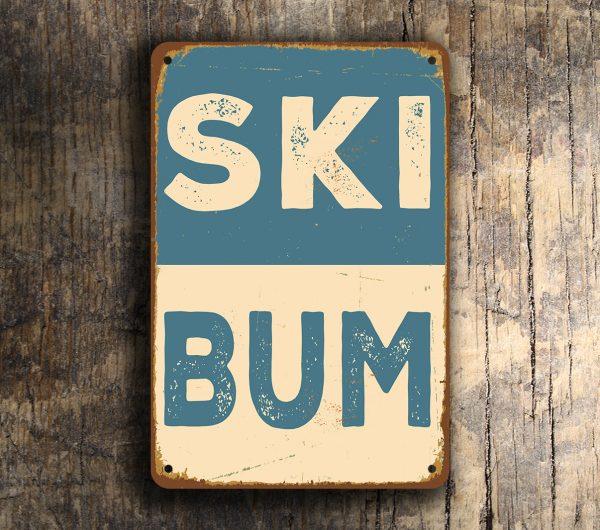 Ski Bum Sign