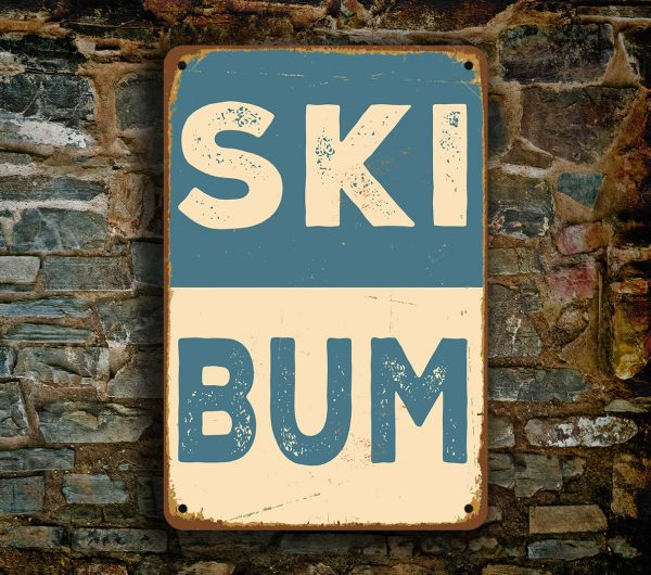 Novelty Ski Signs