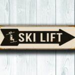 Ski Lift Sign 3