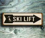 Ski Lift Directional Signs