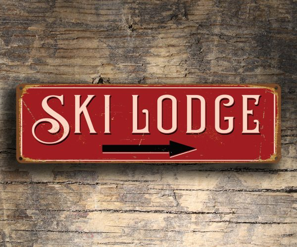 Ski Lodge Sign