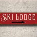 Ski Lodge Sign 3