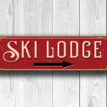 Ski Lodge Sign 4