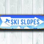Ski slopes Sign 4