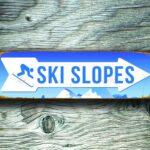 Ski slopes Sign 5
