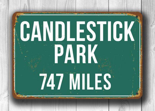 Candlestick-Park-Distance-Sign-3