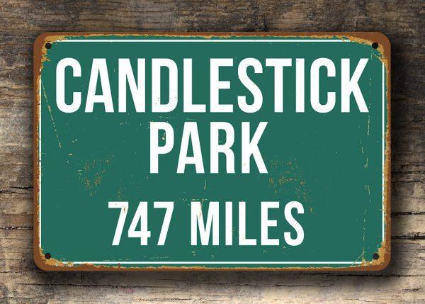 Candlestick-Park-Distance-Sign-4