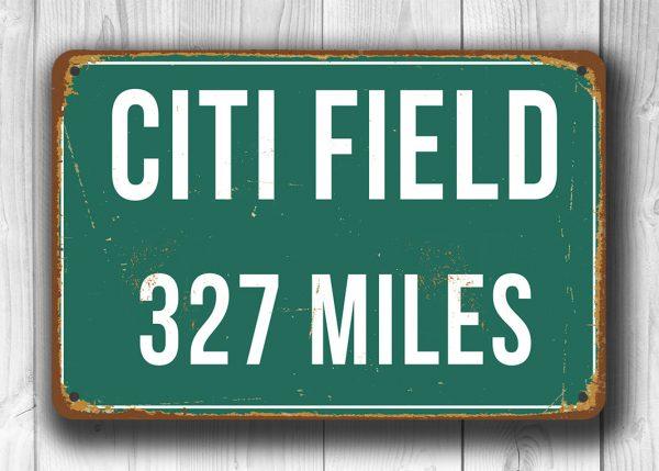 Citi Field Miles Sign