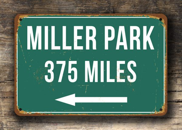 Personalized-Miller-Park-Distance-Sign-3