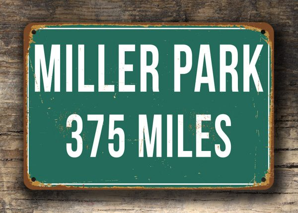 Personalized-Miller-Park-Distance-Sign-4