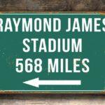 Raymond James Distance Sign