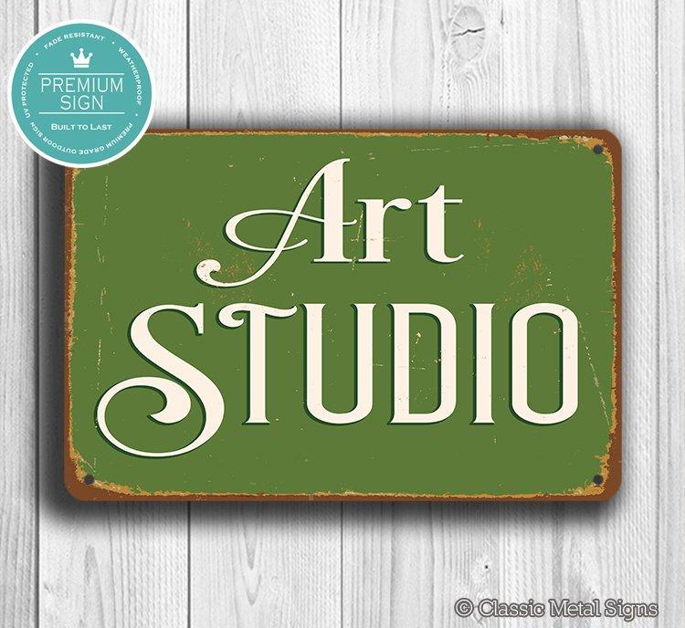 Artist Studio Sign