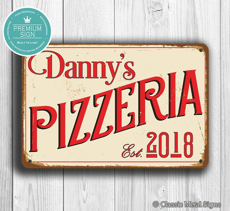Custom Pizzeria Sign