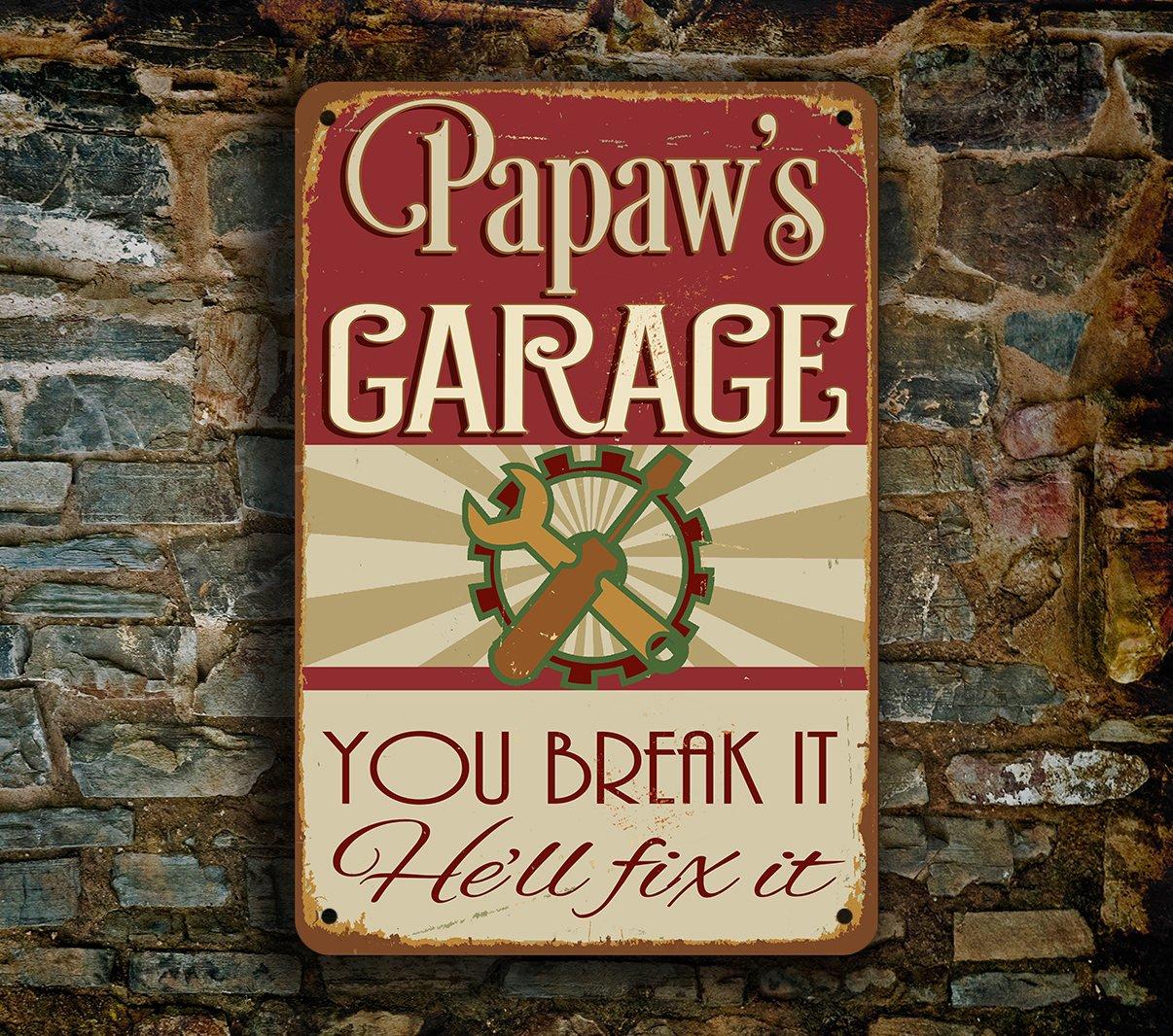 Papaws-Garage-Sign-1