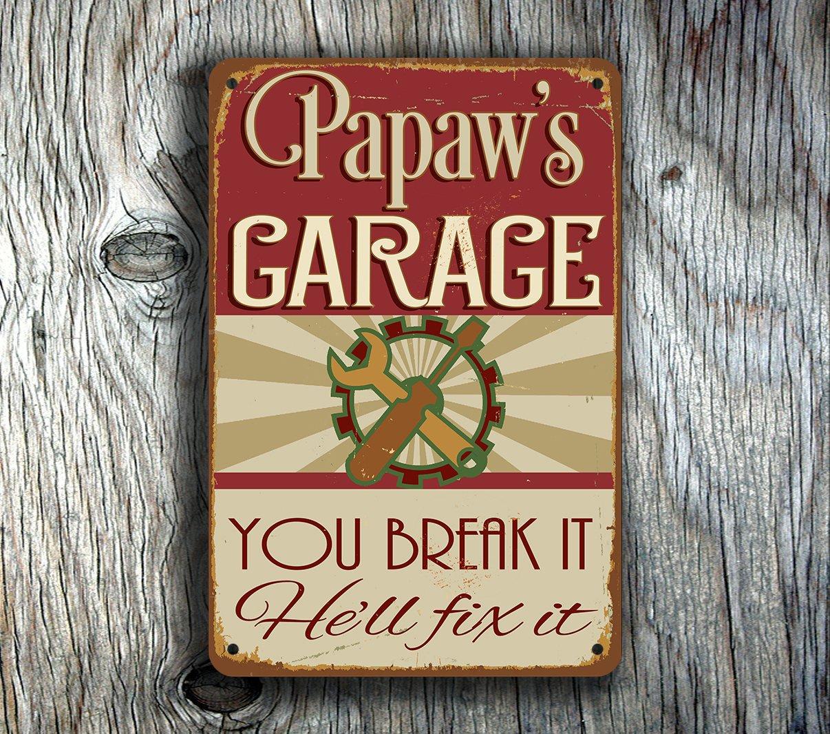 Papaws-Garage-Sign-2