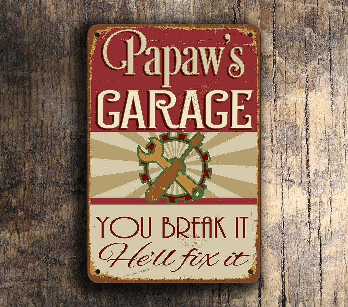 Papaws-Garage-Sign-3