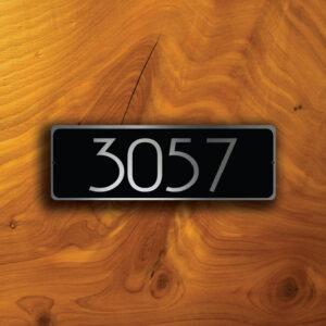 CUSTOM DOOR NUMBER Sign