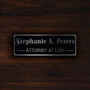 Custom DOOR NAME PLAQUE Sign