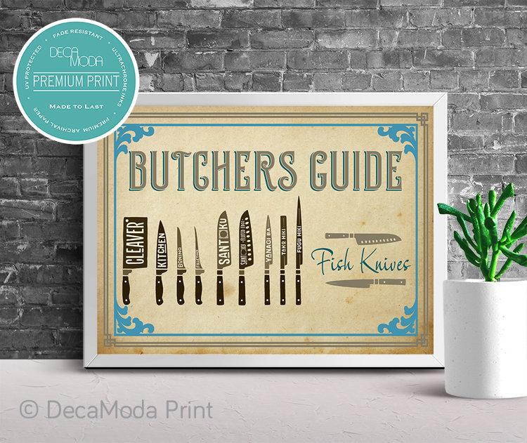 Fish Knives Art Print