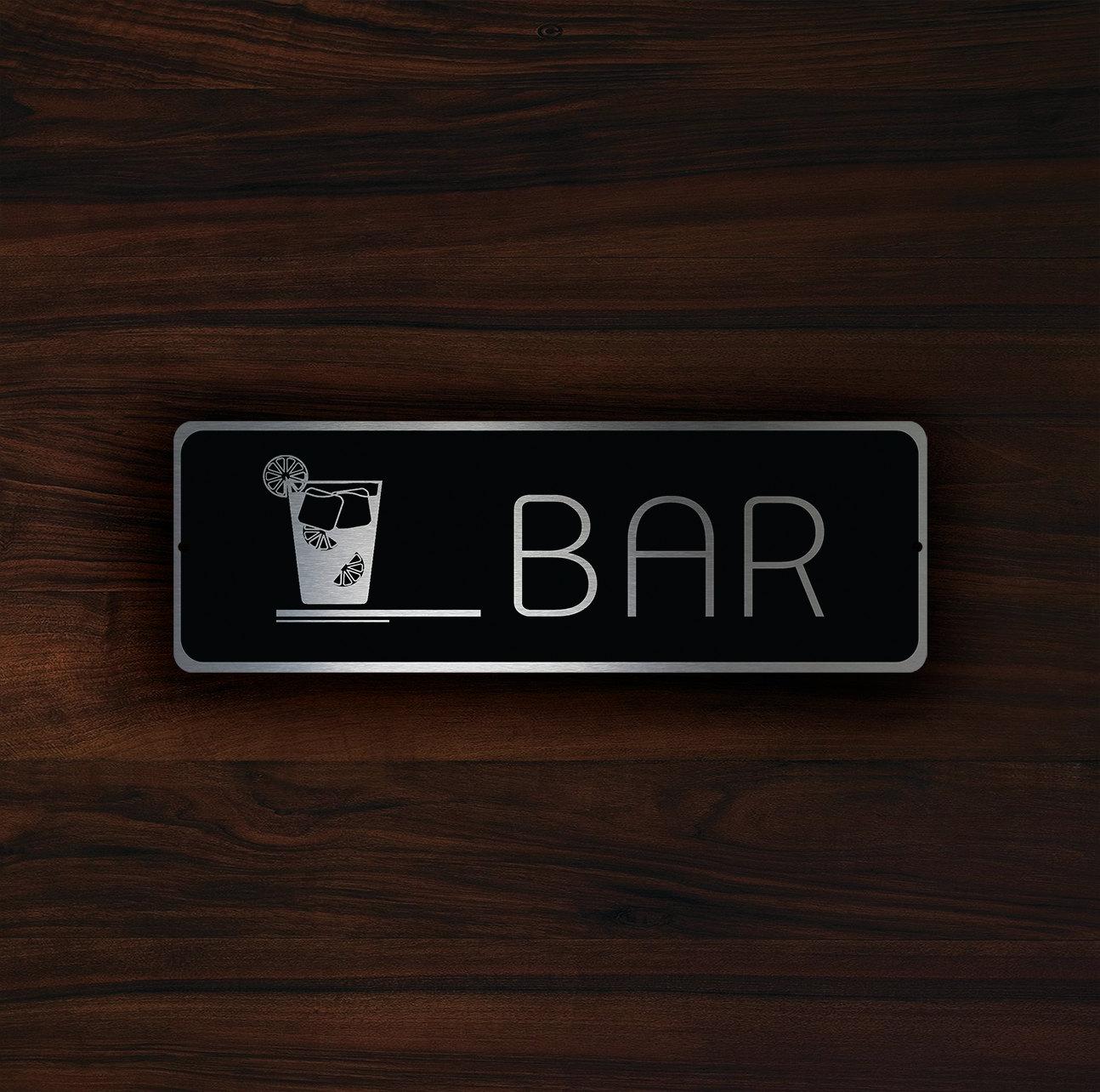 HOTEL BAR SIGN
