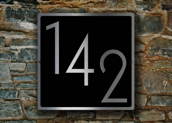 MODERN NUMBERS SIGN