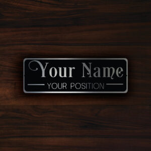PERSONALIZED  DOOR  PLAQUE Sign