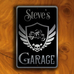 PERSONALIZED GARAGE SIGN Sign