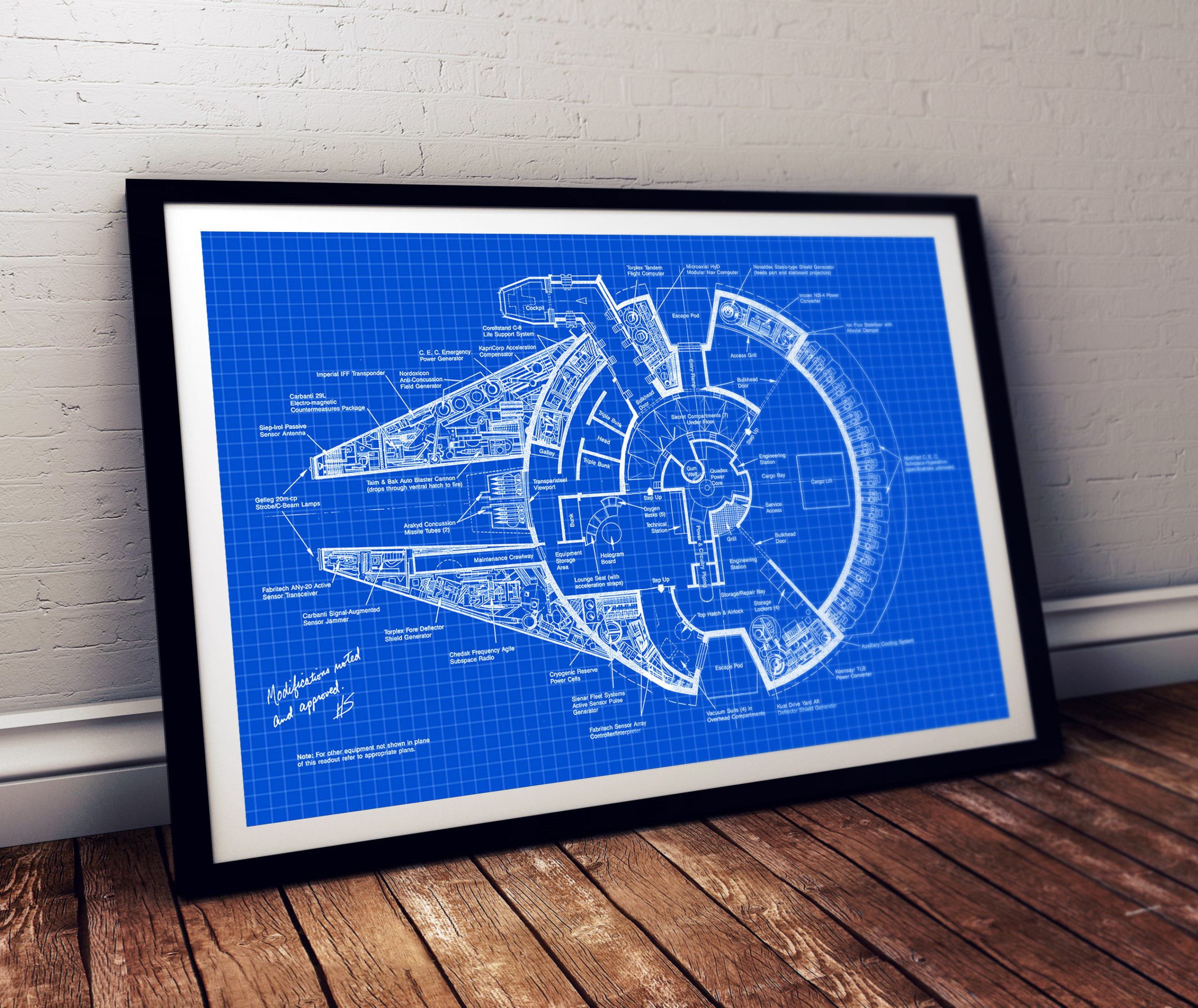 Star Wars Patent Print
