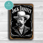 Clasic Metal Signs Jack Daniels Sign 1