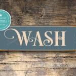 Wash Sign 1