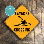 Kayaker Crossing Sign 2