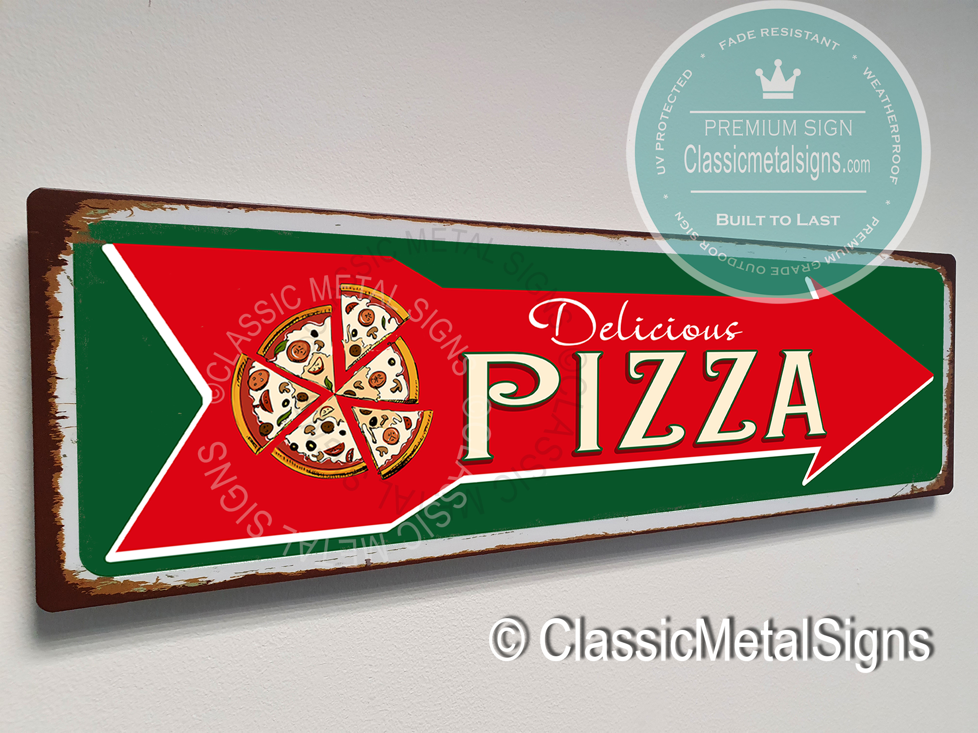 Vintage Pizza Signs