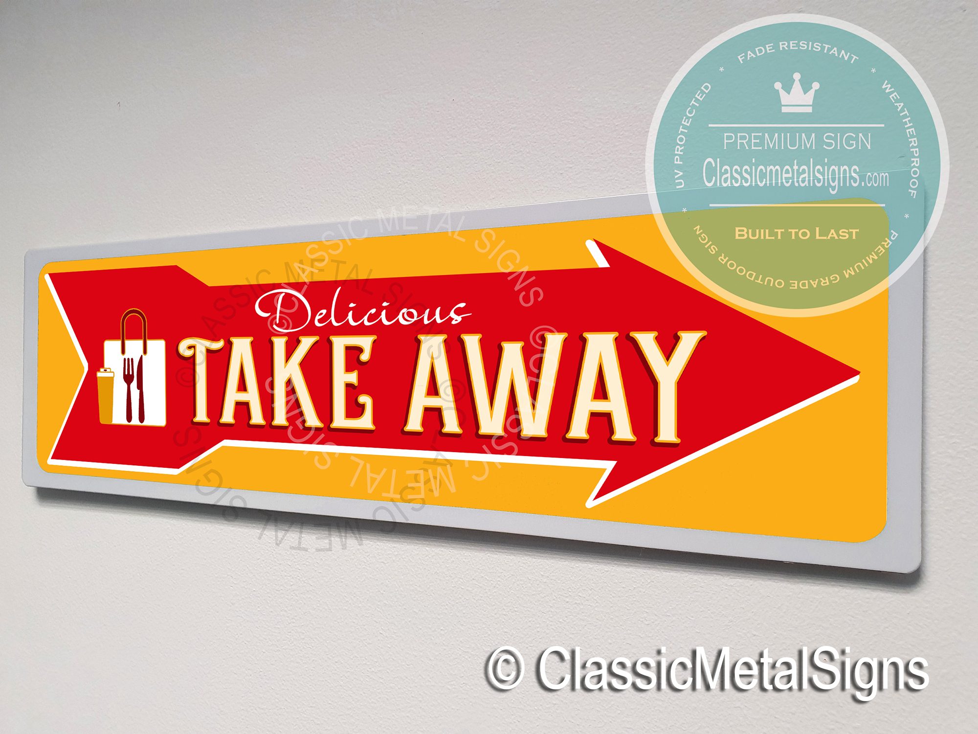 Take Away Directional Signs