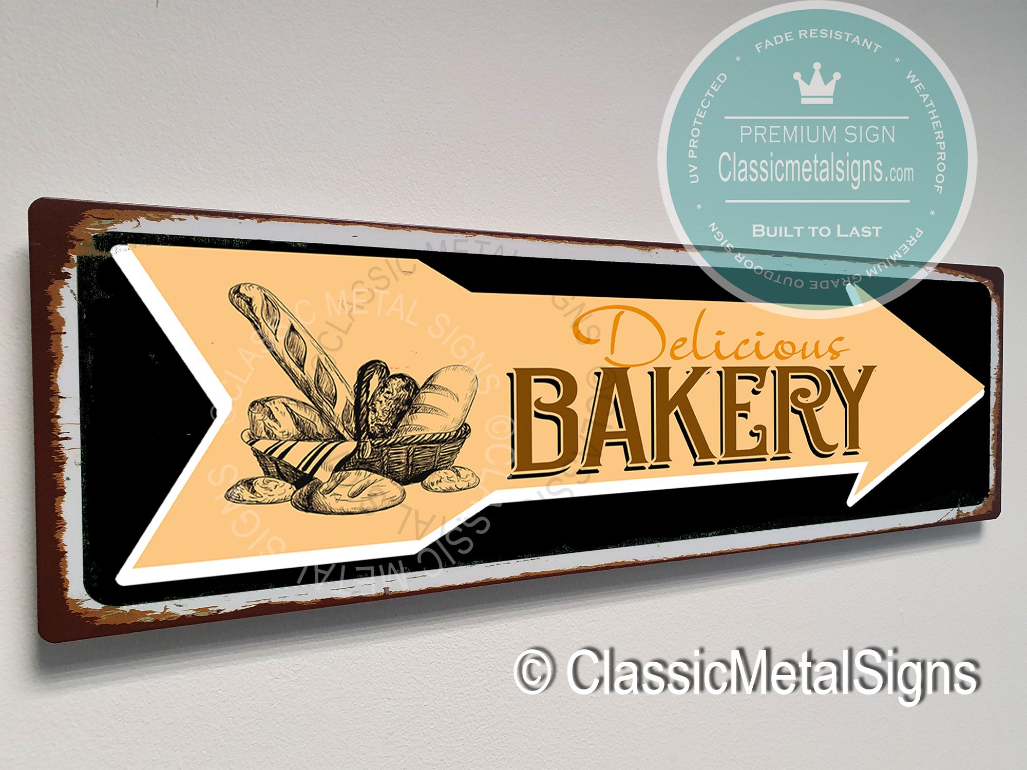 Bakery Arrow Signs