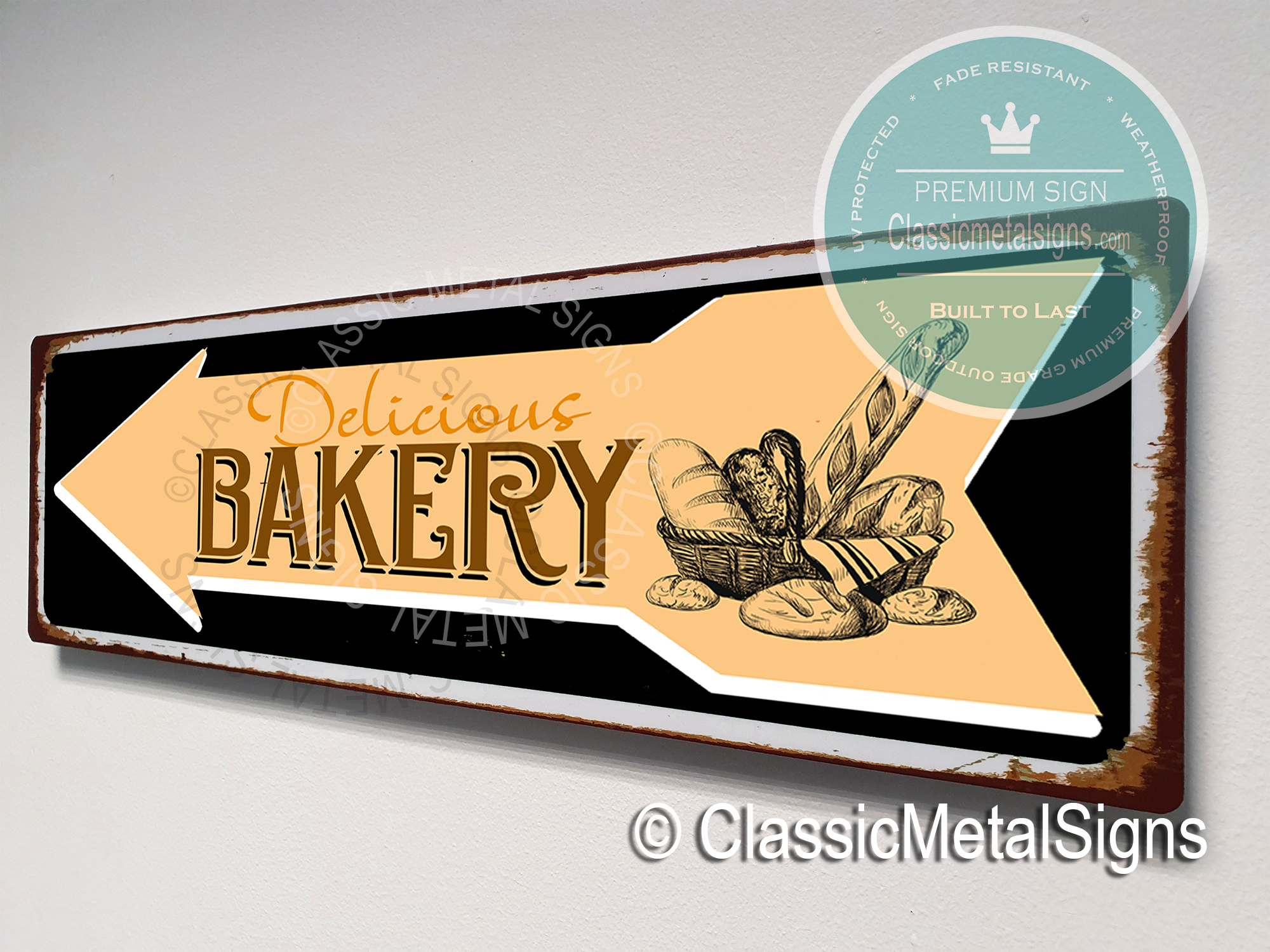 Bakery Directional Signs