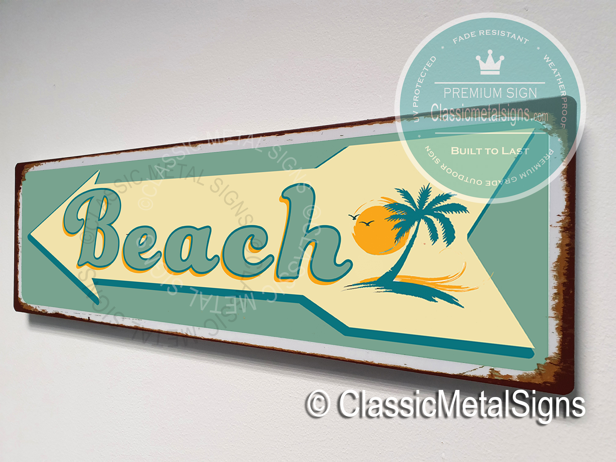 Beach Directional Signs