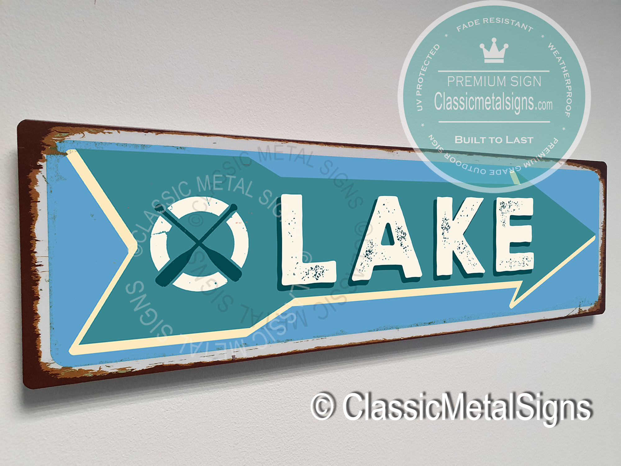 Lake Arrow Signs