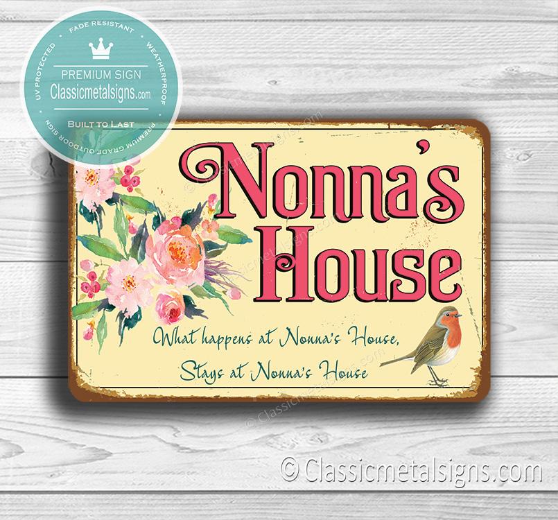 Nonna's House Sign