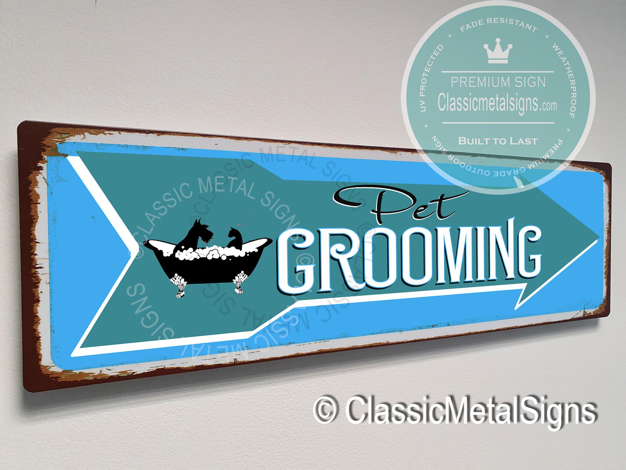 Pet Grooming Sign