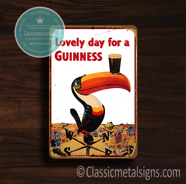 Lovely day for a Guinness Signs